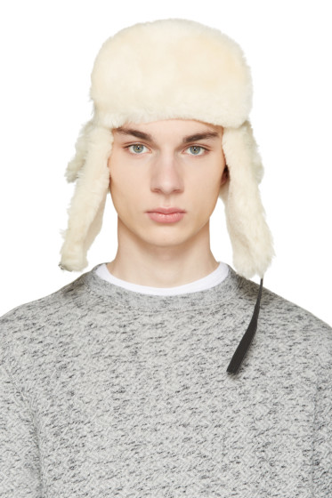 Canada Goose - Brown Shearling Aviator Hat