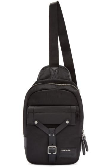Diesel - Black Mono Crossbody Backpack