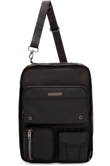 Diesel - Black Nylon Gear Backpack