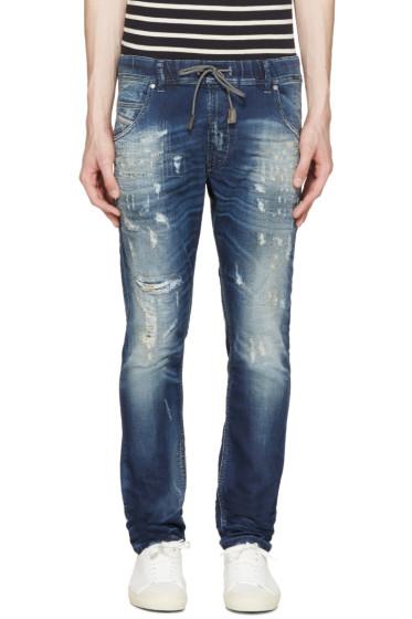 Diesel - Blue Krooley Jogg Jeans