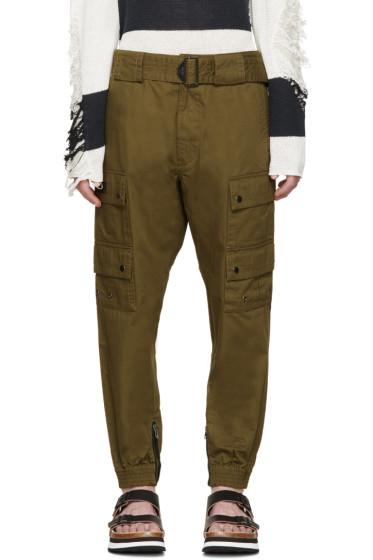 Diesel - Green Sly Cargo Pants