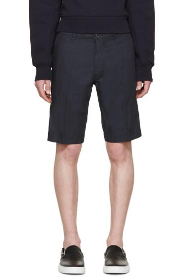 Diesel - Navy Cotton PITT Shorts
