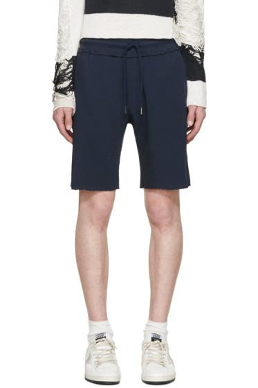 Diesel - Navy Woven Marlon Shorts