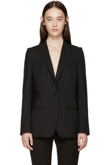 Dolce & Gabbana - Black Wool Tailored Blazer
