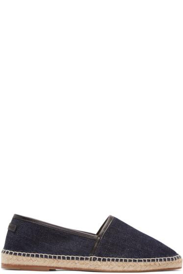 Dolce & Gabbana - Indigo Denim Espadrilles