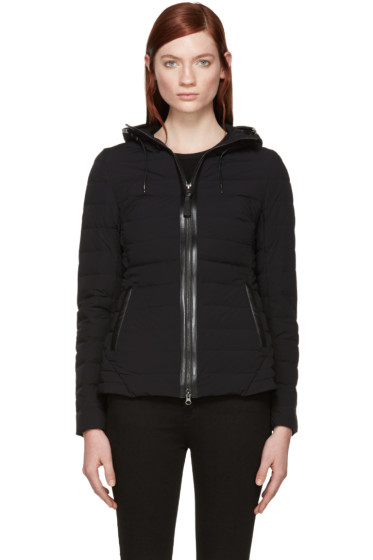 Mackage - Black Quilted Down Kim Jacket