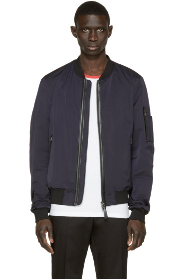 Mackage - Navy Alber Bomber Jacket