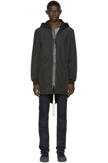 Mackage - Black Yigal Rain Coat