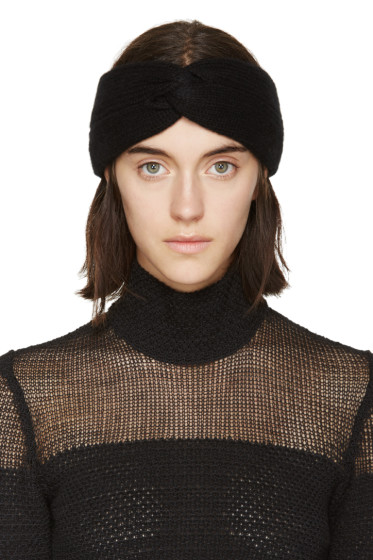 Rag & Bone - Black Twisted Alexis Headband