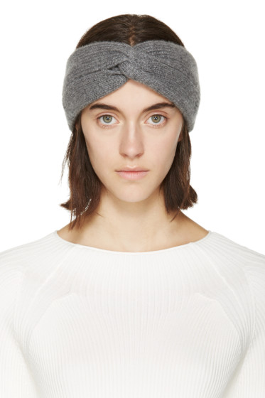 Rag & Bone - Grey Twisted Alexis Headband