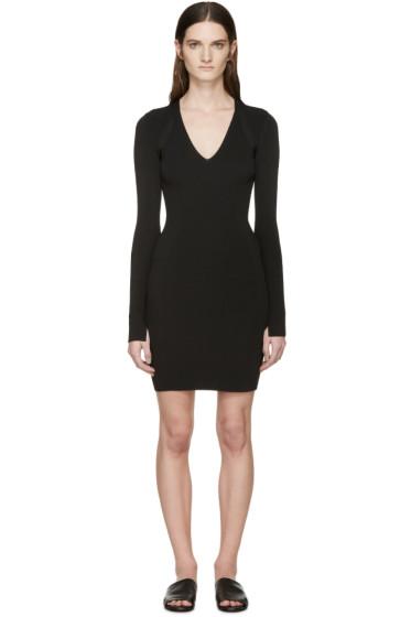 Rag & Bone - Black Knit Galina Dress