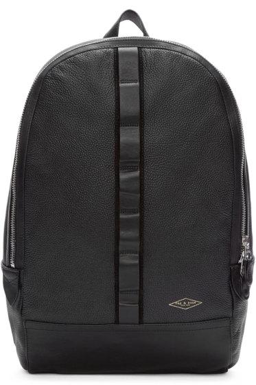 Rag & Bone - Black Leather Derby Backpack