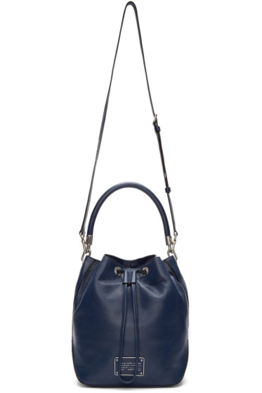 Marc by Marc Jacobs - Navy Large New Too Hot To Handle Bucket Bag