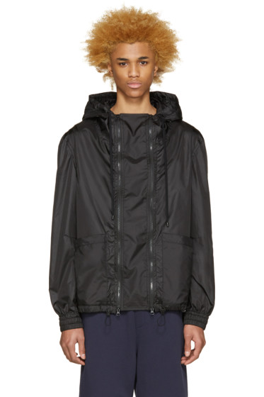 Public School - Black Aratus Windbreaker Jacket