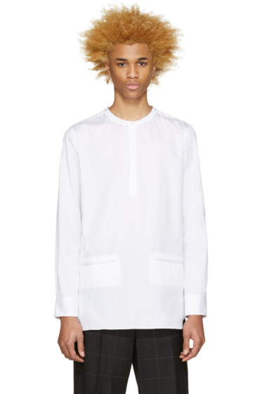 Public School - White Hanaki Shirt