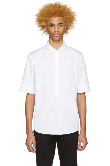 Public School - White Ventris Shirt