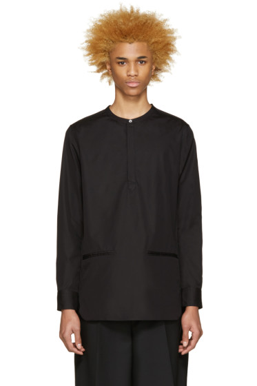 Public School - Black Hanaki Shirt