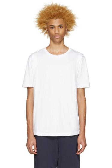 Public School - White Jersey Lane Shirt
