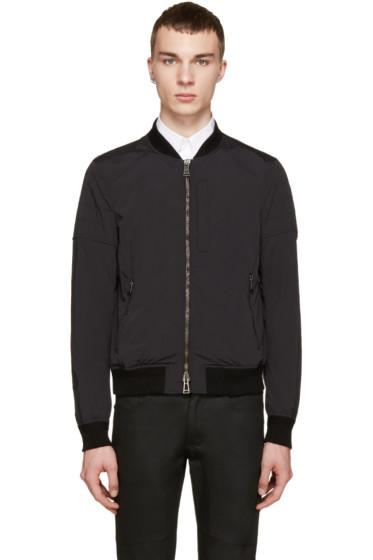 Belstaff - Black Nylon Stockdale Jacket