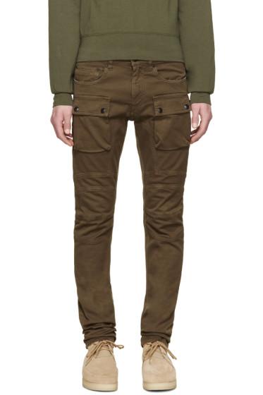 Belstaff - Khaki Felmore Cargo Jeans
