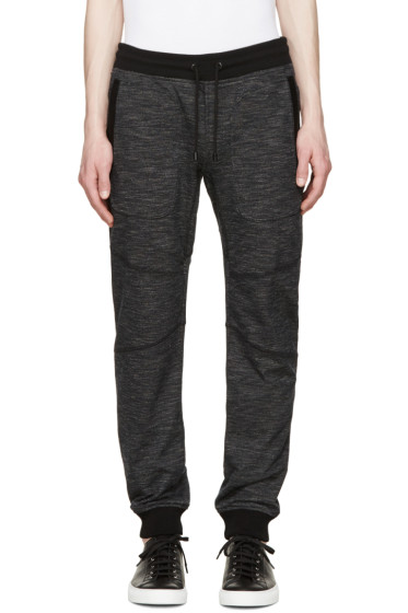 Belstaff - Black Marled Frey Lounge Pants