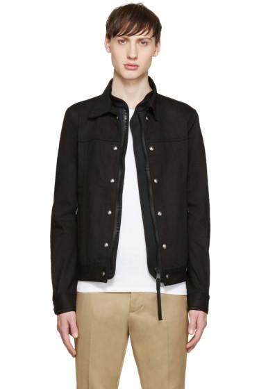 Diesel Black Gold - Black Layered Jacket