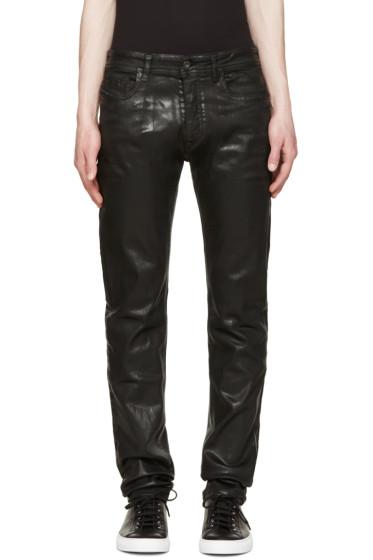 Diesel Black Gold - Black Coated Skinny Jeans
