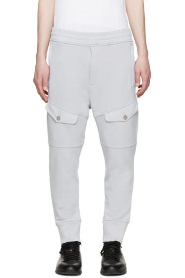 Diesel Black Gold - Grey Cargo Pocket Lounge Pants