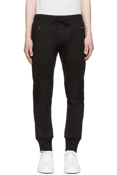 Diesel Black Gold - Black Slim Lounge Pants