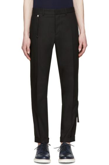 Diesel Black Gold - Black Side Zip Trousers