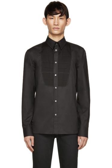 Diesel Black Gold - Black Poplin Bib Shirt