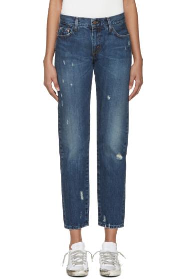 Levi's Vintage Clothing - Indigo 1967 Customized 505 Jeans