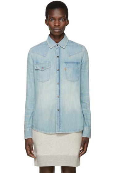 Levi's Vintage Clothing - Blue Denim 70s Shirt