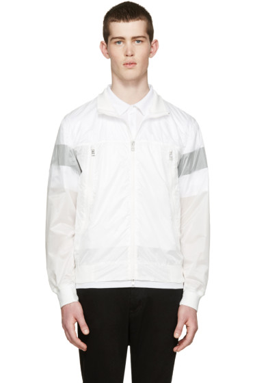 Moncler - White Nylon Farais Jacket