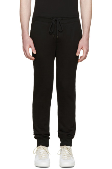 Moncler - Black Terry Lounge Pants