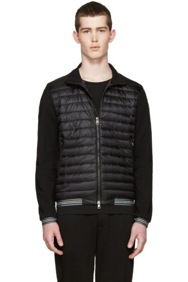 Moncler - Black Quilted Down Jacket