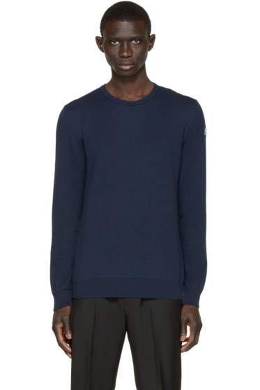 Moncler - Navy Classic Pullover