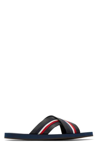 Moncler - Black Slide Sandals