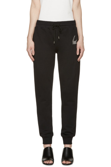 McQ Alexander Mcqueen - Black Studded Swallow Lounge Pants