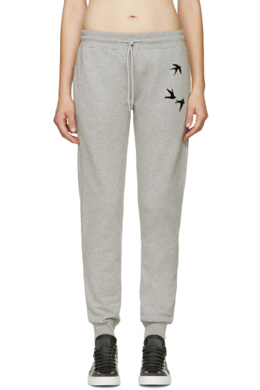 McQ Alexander Mcqueen - Grey Swallow Sweatpants