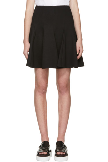 McQ Alexander Mcqueen - Black New Flirty Miniskirt