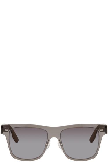 McQ Alexander Mcqueen - Black Translucent Sunglasses
