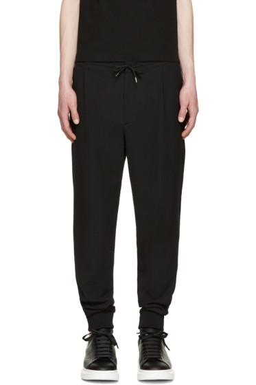 McQ Alexander Mcqueen - Black Cuffed Lounge Pants