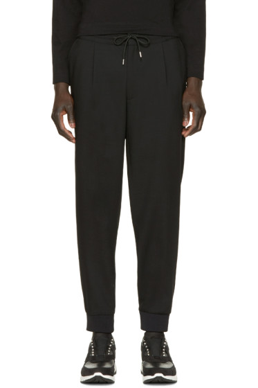 McQ Alexander Mcqueen - Black Wool Trousers