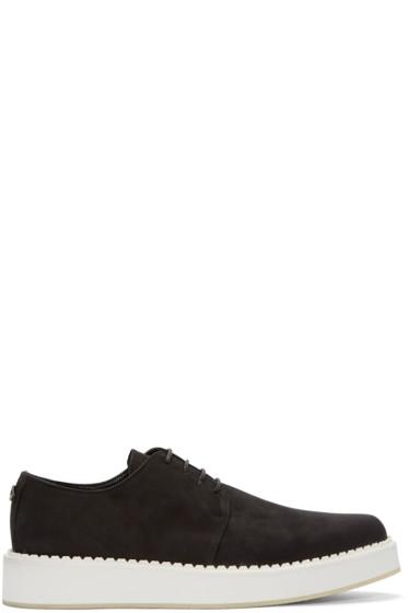 McQ Alexander Mcqueen - Black Creeper Low-Top Sneakers