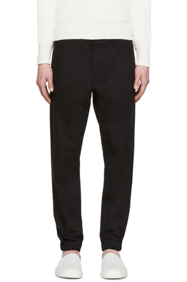Tiger of Sweden - Black Twill Rosedale Trousers