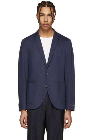 Tiger of Sweden - Navy Knit Hoyt Blazer