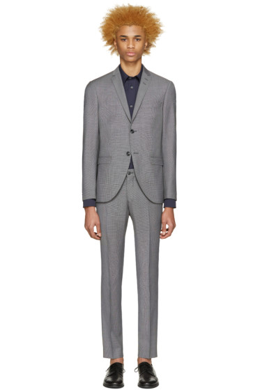 Tiger of Sweden - Grey Houndstooth Jil Suit
