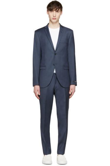 Tiger of Sweden - Navy Wool Jil Suit