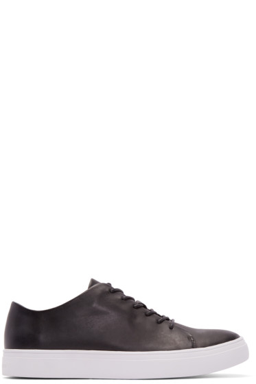 Tiger of Sweden - Black Leather Yngve Sneakers